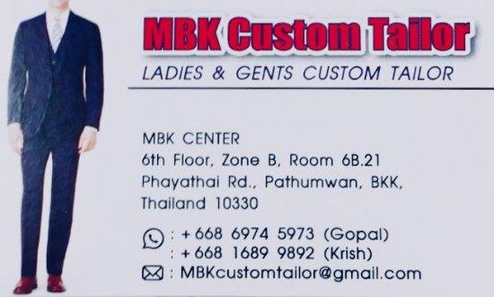 MBK Custom Tailor