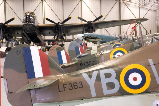 Coningsby, UK: The historic planes of the BBMF