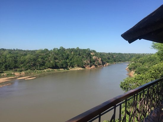 Chiredzi, Zimbabue: View from the dining area