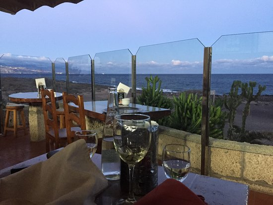 Restaurante Casa Tato: Terrasse der Casa Tato - wunderschön.