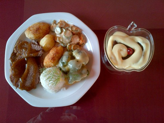 Laingsburg, Südafrika: Dinner & Dessert