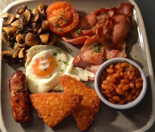 Fulbourn, UK: Full english breakfast