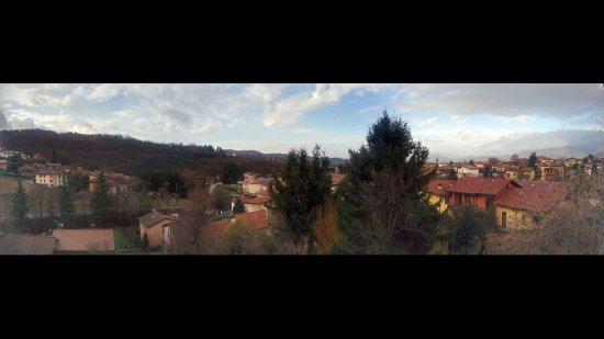 Ponteranica, Italy: Panorama dalla camera