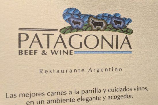 Patagonia Beef & Wine: Great food & wine. Would go again!