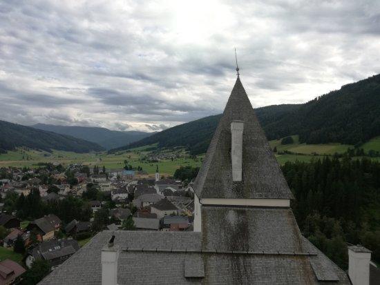 Mauterndorf, Áustria: Veduta dalla torre del Castello