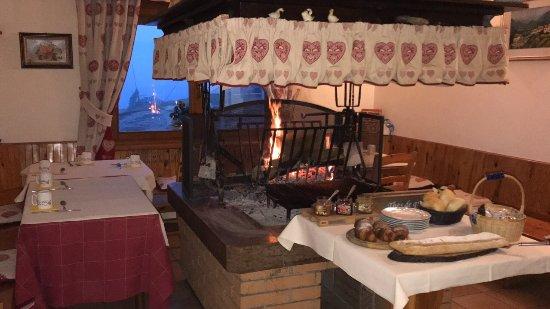 Trichiana, Italia: Colazione
