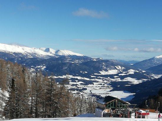 Mauterndorf, Austria: Panorama dalla baita Burgeralm