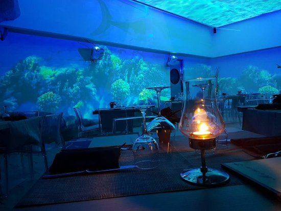 In fondo al mar....suoni e immagini oceaniche allieteranno la vostra serata!