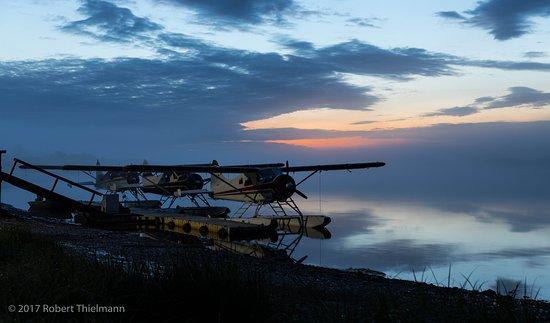 King Salmon, AK: Our chariots await!