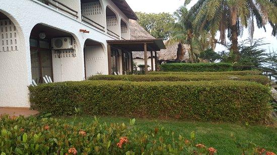 Hotel Villa Caribe: les terrasses