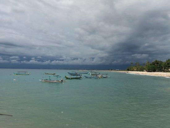 Legian Guest House: The sea in Kuta