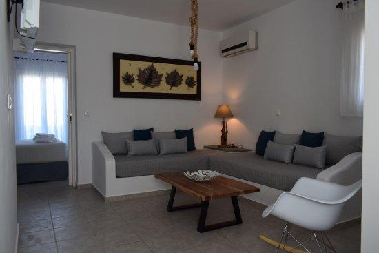 Kastraki, Grecia: Living Room / Bedroom