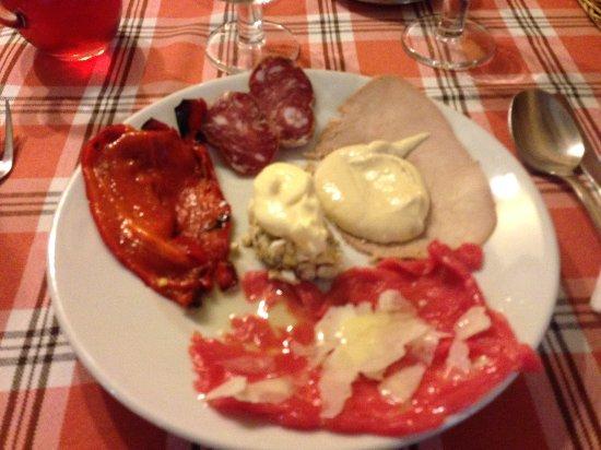 Caramagna Piemonte, Italia: antipasto