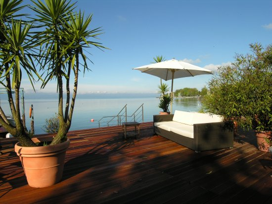 Pension am Bodensee : Terrasse