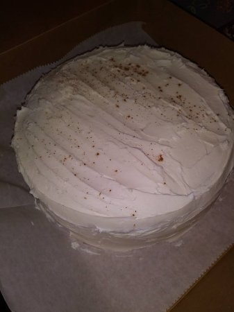 Minden, NE: Double layer Carrot Cake was a special order.  We can do some simple decorating by request.