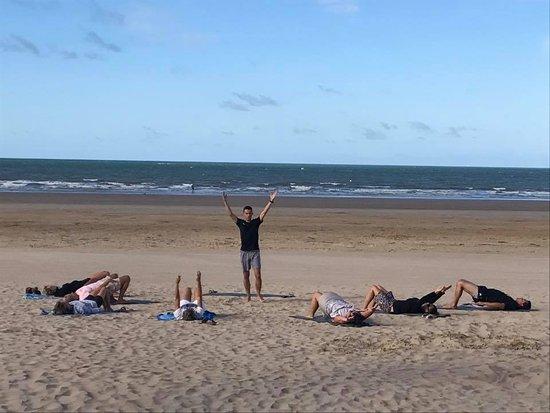 Adapt'form: Pilates sur plage cours collectif