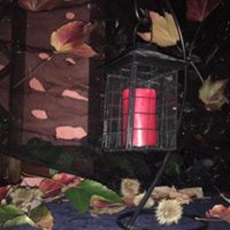 Ala di Stura, Italia: la lanterna all'entrata del salone
