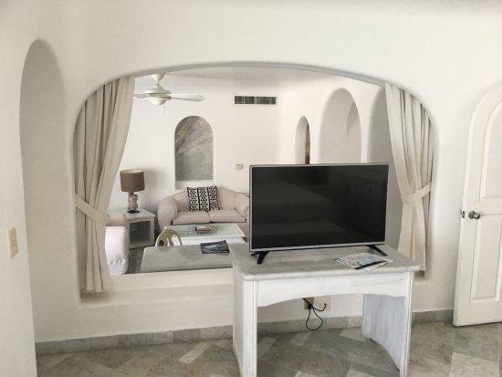 Las Hadas By Brisas : View to living room