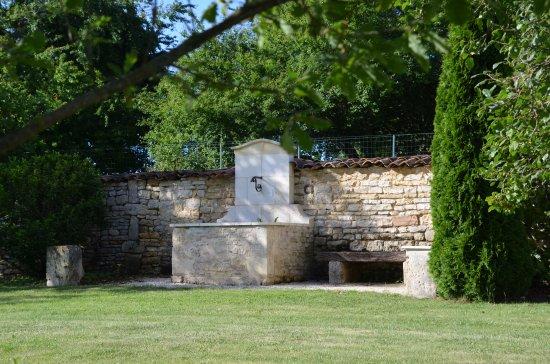 Au Moulin Brun : Jardin