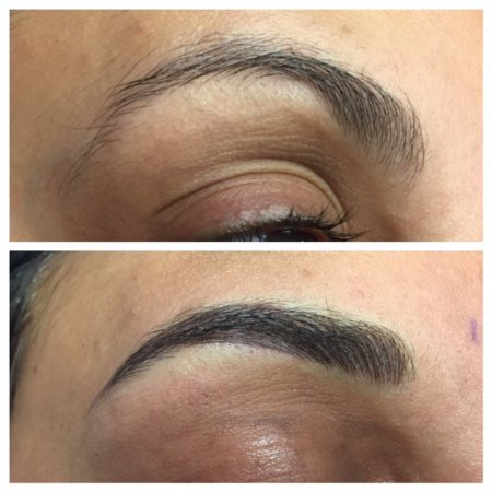 Pure Skin and Body Care: Permanent Makeup EyeBrows with Microblading.