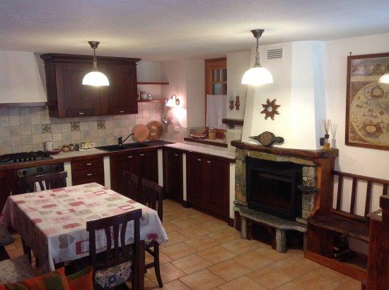 B&B Le Temps d'Une Pause: Cucina soggiorno