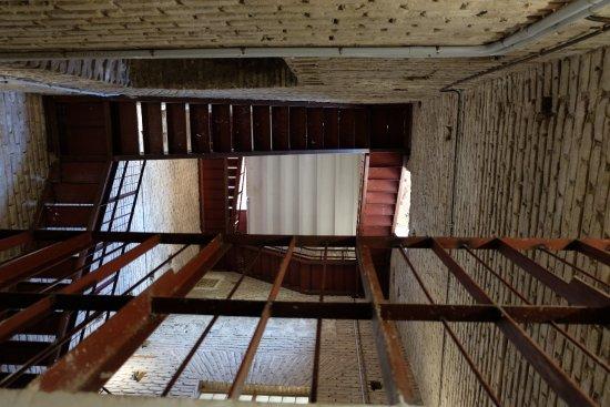 Iglesia de San Ildefonso Jesuitas: Bell tower`s staircase