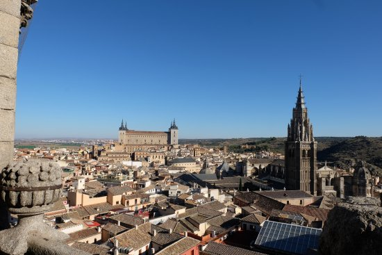 Iglesia de San Ildefonso Jesuitas: View from bell tower