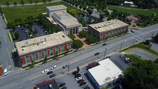 Spartanburg, Carolina Selatan: Aerial View | Chapman Cultural Center