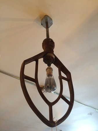 Lambertville, NJ: Our specialty is lighting. We can make a light out of just about anything.