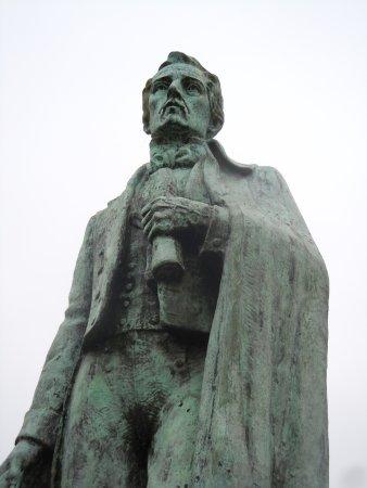 Statue de Santander: Détail de la statue