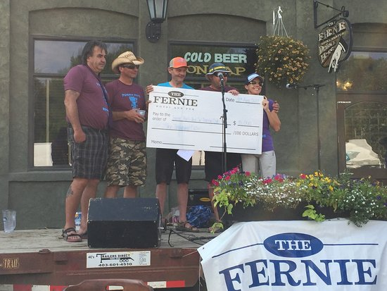 $10,000 donation in 2017 to Fernie Trails!