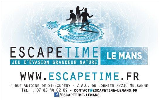 Escape Time Le Mans