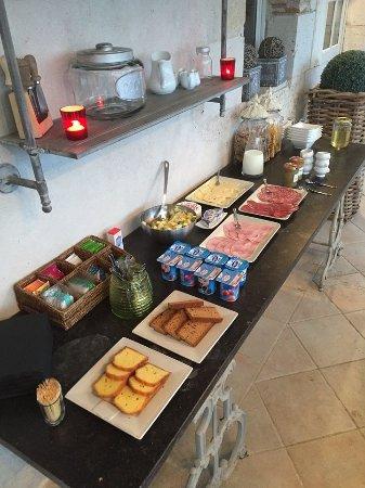 Engayrac, Francia: Breakfast