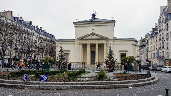 Eglise Sainte Marie des Batignolles