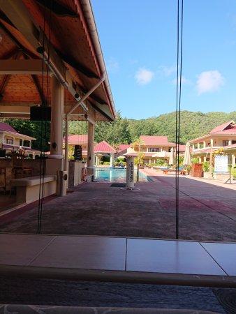 The Oasis Hotel Restaurant Seychellen