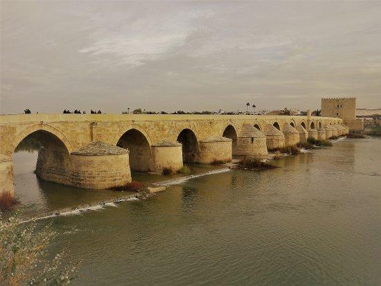 Província de Córdoba, Espanha: Il ponte romano di Cordoba sul Guadalquivir.