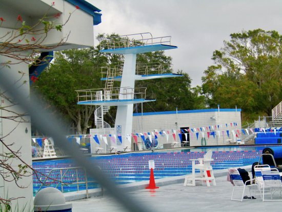 Largo, FL: Diving Platform