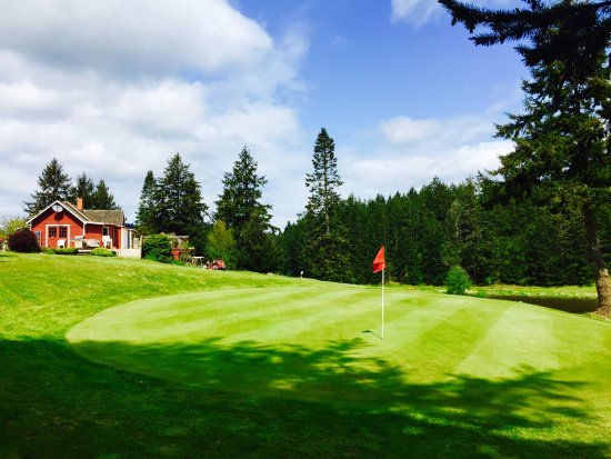 Eastsound, WA: 9th green