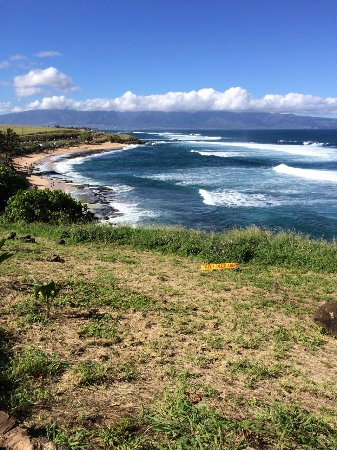 Paia, Hawái: View to the west