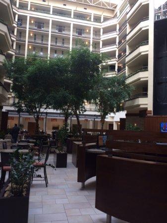 Emby Suites By Hilton Nashville Airport Atrium Area