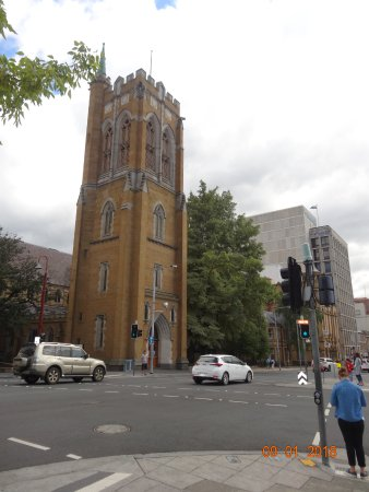 St. David's Cathedral: Seen from Macquarie Street