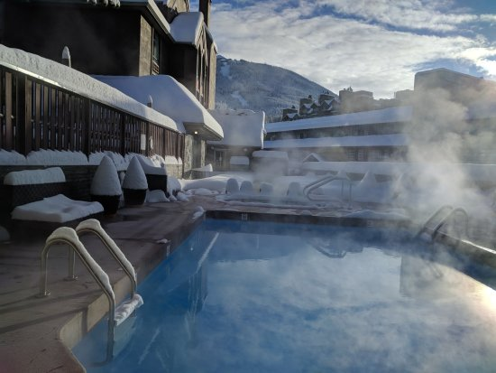Adara Hotel: Whistler's newest pool, hot tub and deck