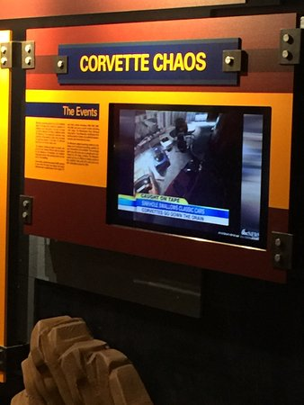 National Corvette Museum : Sink Hole from Feb 12, 2014