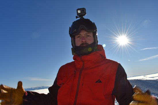 Sandpoint, ID: Sean our lead guide and another snowboarder captured all the fun with his gopro.