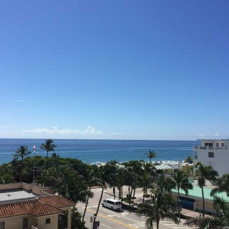 Delray Beach Marriott: view from the room