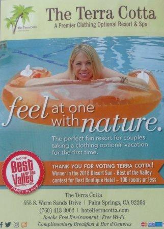The Terra Cotta Won The Award From The Desert Sun Newspaper Best