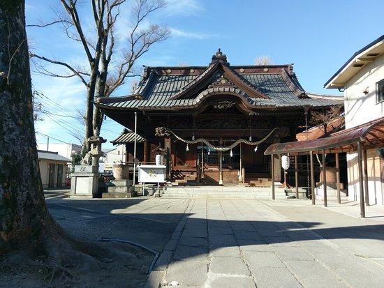Isesaki, اليابان: 伊勢崎神社