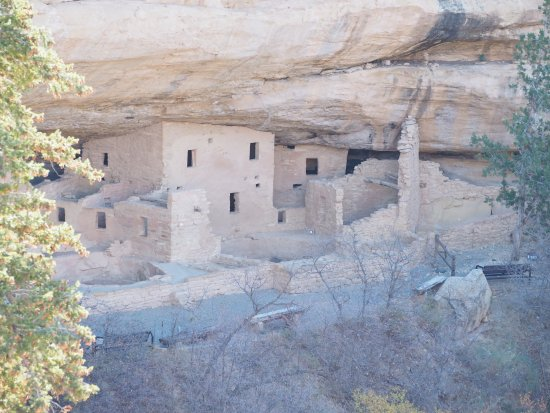 Mesa Verde National Park, CO: Spruce Tree House (sadly, closed due to structural concerns)