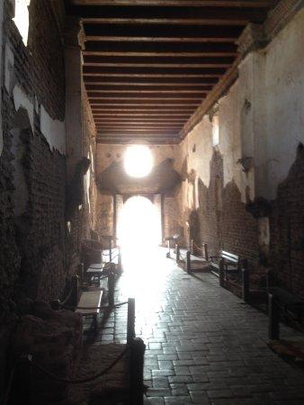Tumacacori, AZ: Inside the church.