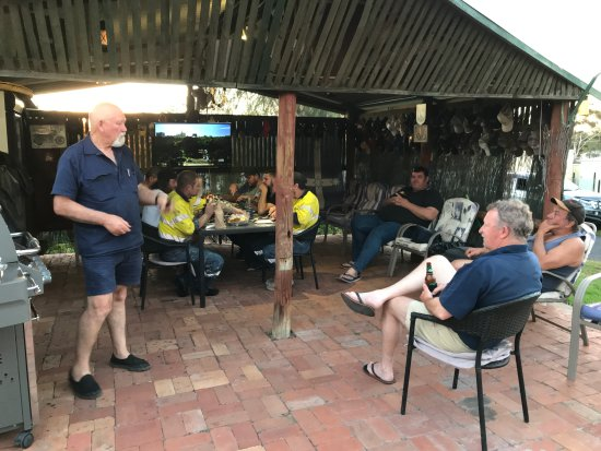 Peak Hill, Australia: Outdoor meal area